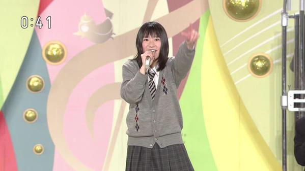 NHKのど自慢で優勝した女子高生...